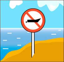 Запрет выхода лодок на воду
